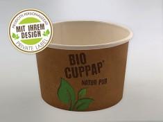 Druck CupPap Pappbecher 300 (GE-3M) 300ml randvoll, Ø95mm, H64mm