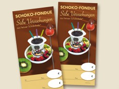 Einleger 'Fondue' Pack a 10St.