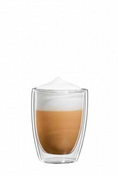 Cappuccino Glas C005-150 gewölbte Ausf. H 82, 150 ml