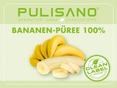 Bananen-Püree 100%, ,5kg PULISANO