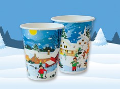 Kaffeebecher Winter GE-K200 270ml randvoll, Ø80mm, H93mm