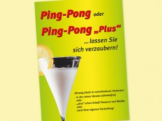 Poster Ping Pong A2