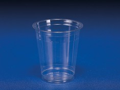 Clear Cup 12oz (300ml) PET 425ml randvoll, Ø95mm H105,5mm