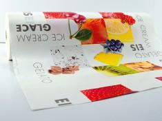 Rollenpapier 'Frutta15' Kraft, 50cm