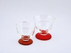 Glas G1-1858R 180ml rot H8,5cm/Ø8,5cm