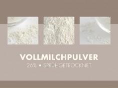 Vollmilchpulver 26% Sprühtrock 25kg-Sack, deutsche Qualität