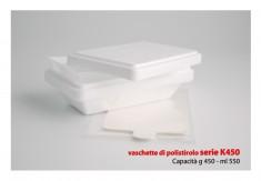 ISO-Behälter 450ml (K450) mit Plastikeinsatz, 350gr