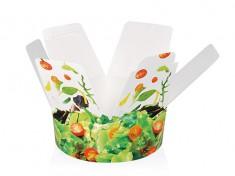Salatbecher GE-FC 99 'Salat' 1000ml, Ø147mm, H153mm,Klappl.