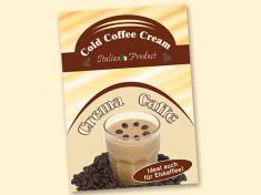 Poster Crema Caffe A2
