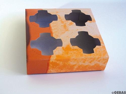 4er Becher-Tablett 9x50 Stck=450Stck