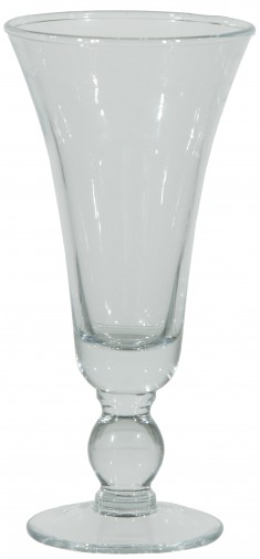 2018 Glas 410ml transparent H25cm/ Ø10cm