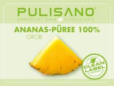 Ananas-Püree 100%, 8x1,5kg PULISANO