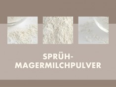 Magermilchpulver Sprühtrockn. 25kg-Sack