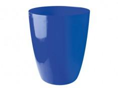 Brik Mülleimer blau 75l mit Deckel (060301/060201)