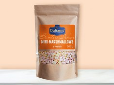 Mini-Marshmallows, 4-frbg. 11mm 0,1gr 5x0,5kg DULIAMO