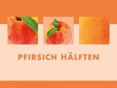 Pfirsich-Hälften 24 x 1/1 Dosen