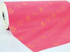 Thermopapier rosa diagonal pelleaglio 50 cm, 45/50 gr.