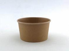 CupPap light Kraft Pappbecher 240 240ml randvoll, Ø96mm, H54mm
