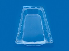 Domdeckel f. Eisbeh. 5l PVC 370x175x68 transparent