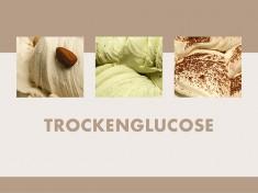 Trockenglucose 25kg Trockenglucose 33