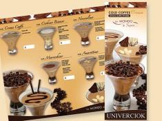 Menukarte Crema Caffe Pack a 10 Stück