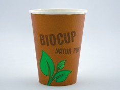 BioCup Cold large einwandig 500ml randvoll, Ø90mm, H130mm