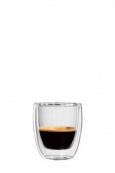 Espresso Glas C 111-080 gewölbte Ausf., H 68, 80 ml