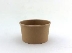 CupPap light Kraft Pappbecher 180 180ml randvoll, Ø85mm, H51mm