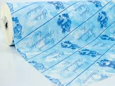 Thermopapier spattolato blau pelleaglio 50cm, 45/50 gr.
